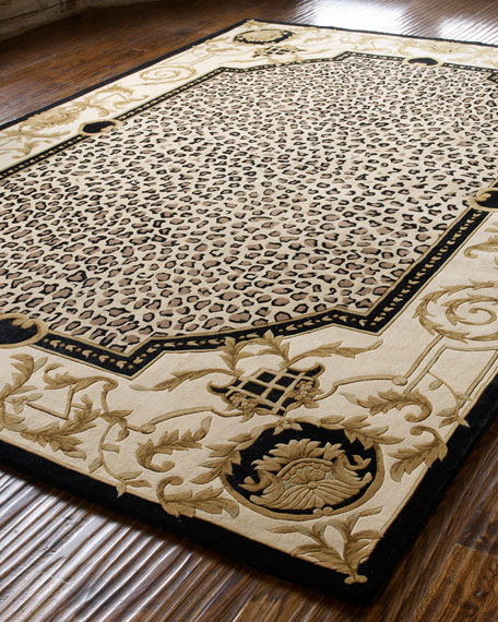 """""""Leopard Maple"""" Rug, 3'6"""" x 5'6"""""""