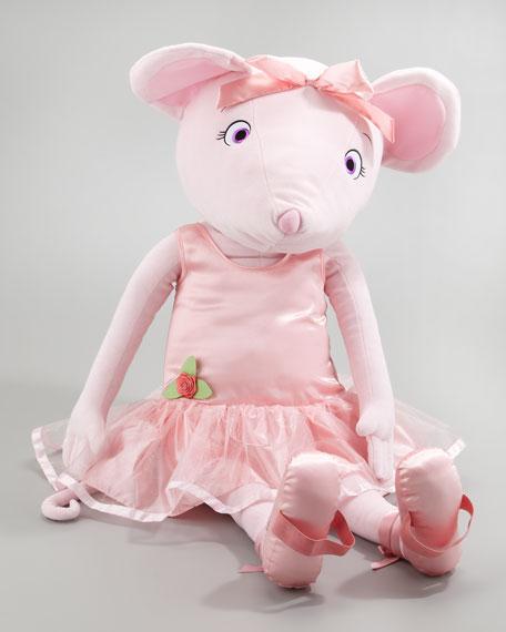 Dance With Me Angelina Ballerina Plush Doll, Big