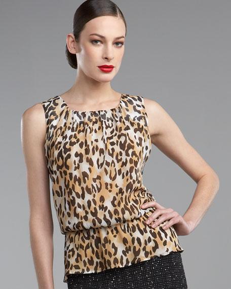 Leopard-Print Shell