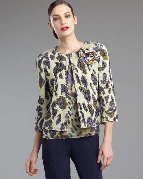 Cheetah-Print Jacket