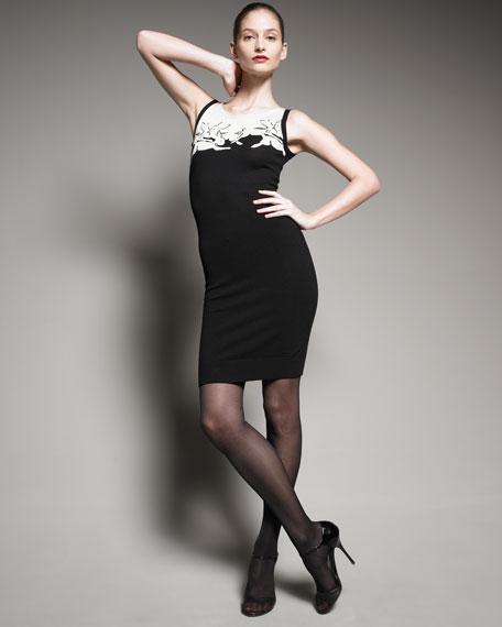 Intarsia Knit Dress