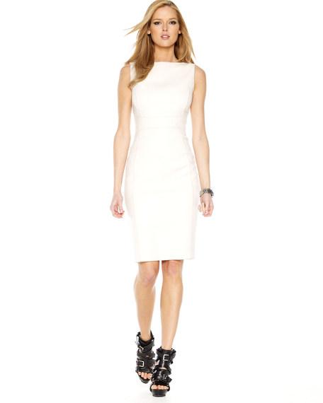Cashgora Sheath Dress