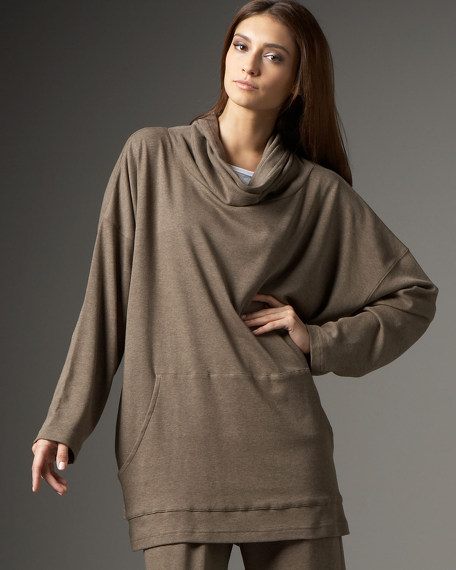 Pima Cotton Long Monks Top
