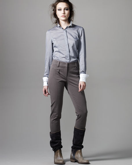 Narrow Ankle Pants