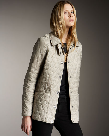 Quilted Nylon Jacket, Trench