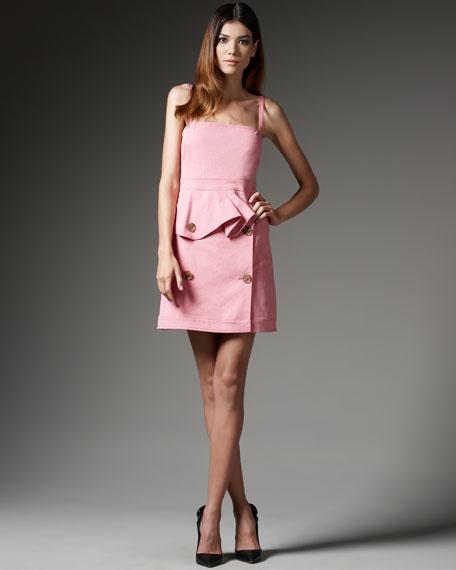 Ruffle-Waist Dress