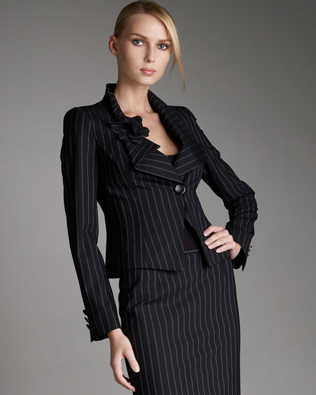 Double-Pinstripe Jacket
