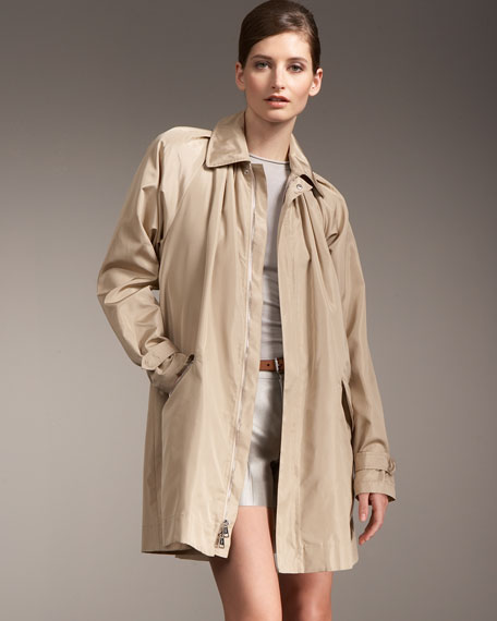 Devora Silk Coat