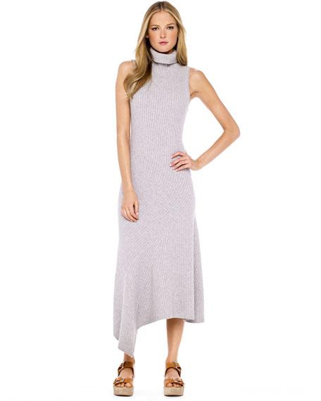 Cashmere Ribbed Dress