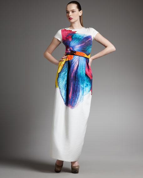 Printed Long Skirt