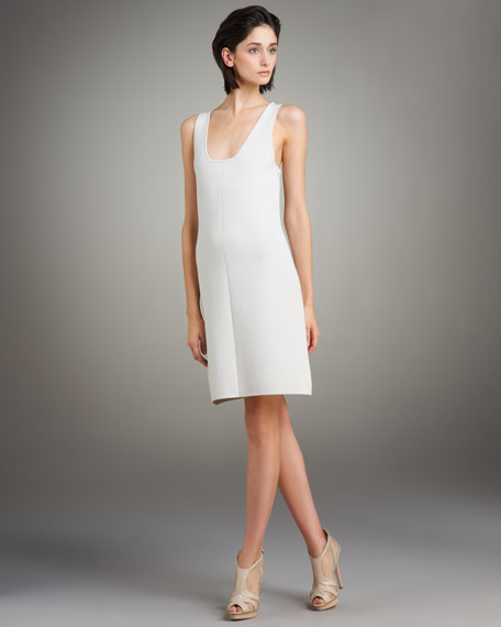 Milano Square-Neck Dress