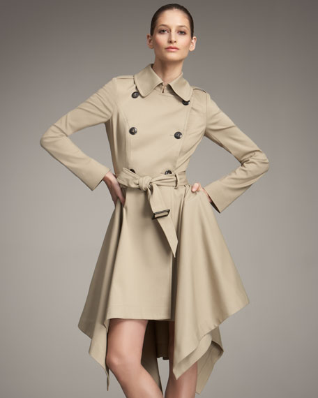 Bustled Trench