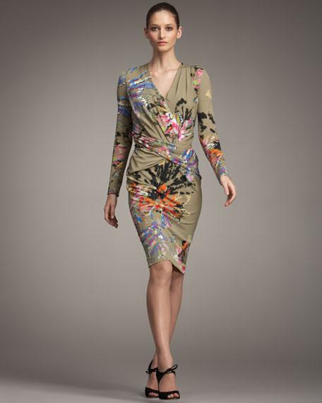 Dagni Floral-Print Dress