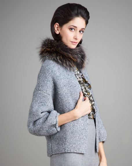 Fur-Collar Jacket