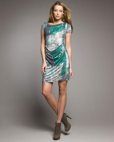 Wallpaper-Print Dress