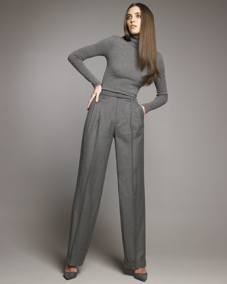 Stamford Belted Cuffed Pants