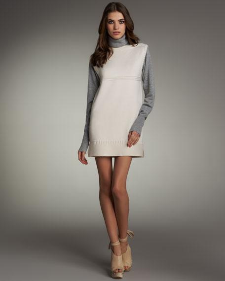 Sleeveless Sweater Dress