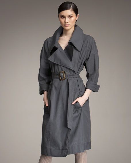 Long Trench With Belt