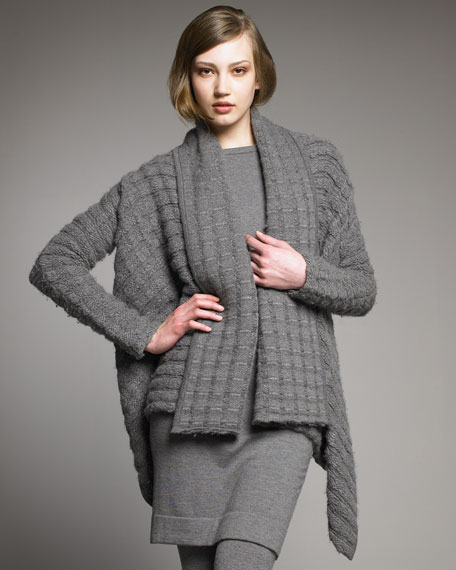 Textured Cashmere Cozy Sweater