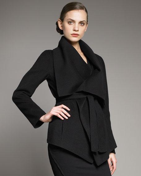 Cashmere Capelet Jacket