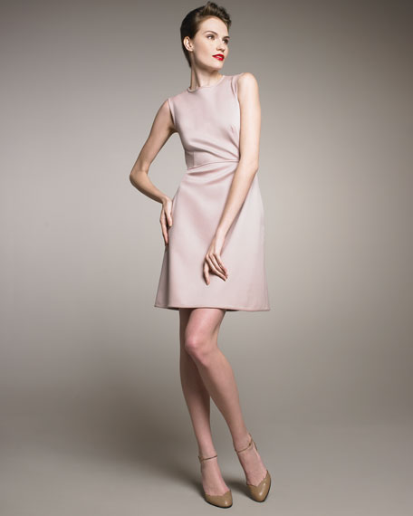 Techno Couture Sheath Dress