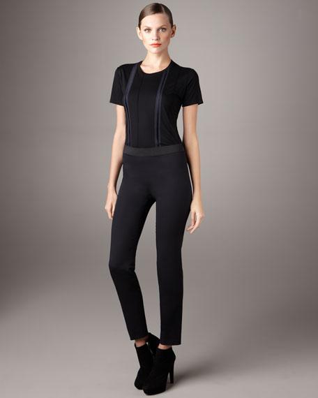 Slim Side-Zip Pants