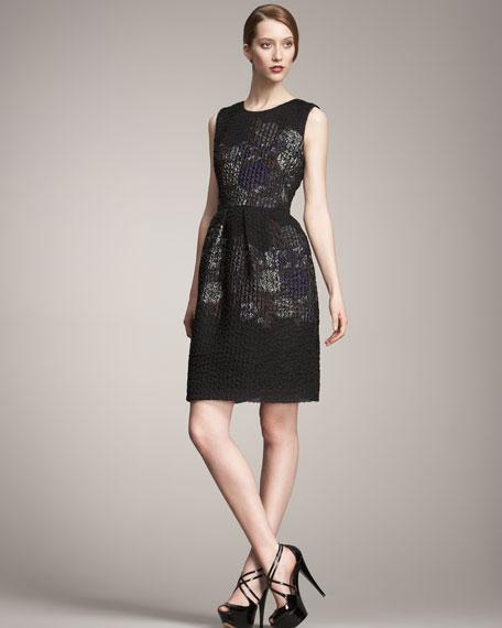 Sleeveless Matelasse Dress