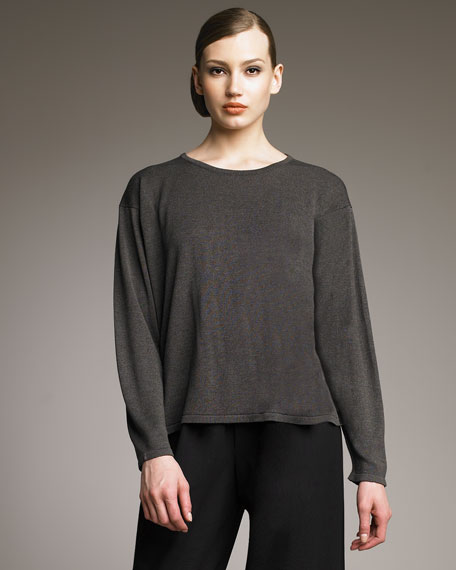 Round-Neck Short Top, Scout
