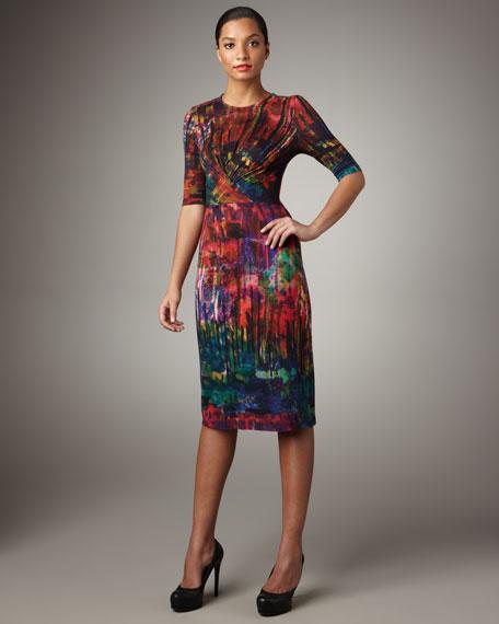 Ashley Twist-Front Dress
