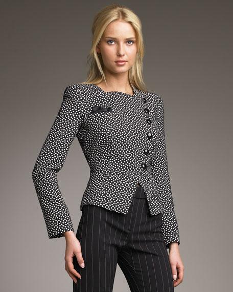 Two-Tone Dot Jacket
