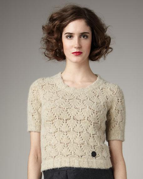 Crochet Knit Sweater