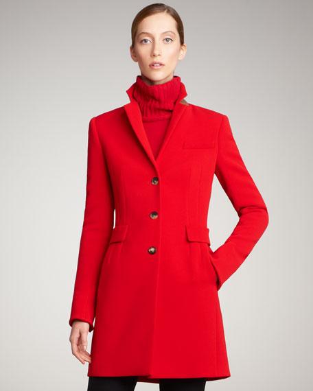 Back-Vent Coat