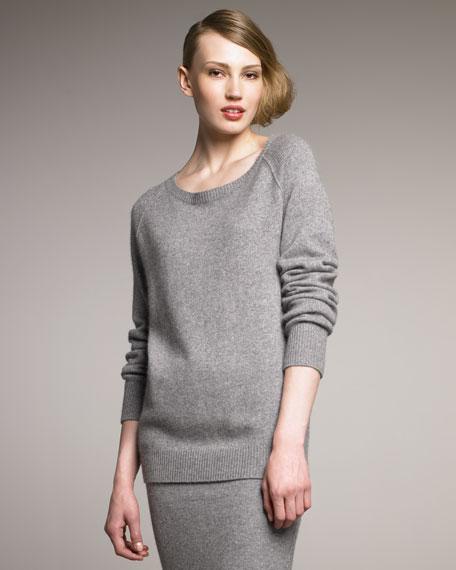 Long-Sleeve Merino Sweatshirt