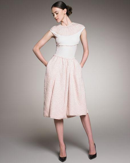 Boucle Full Skirt
