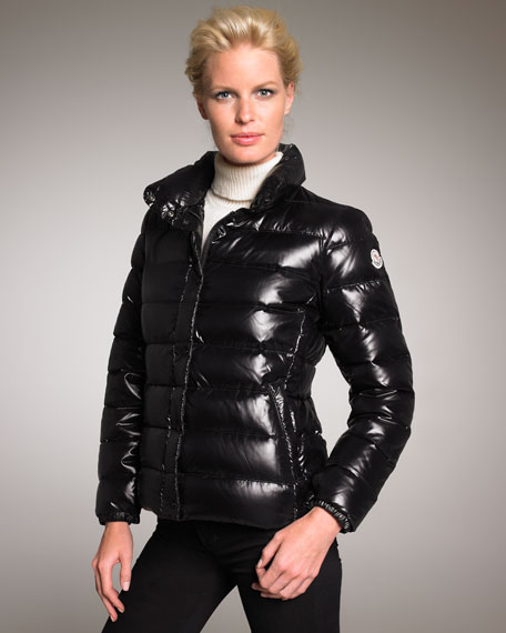 Short Laque Puffer Jacket