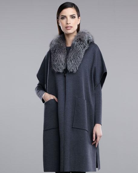 Milano Knit Poncho