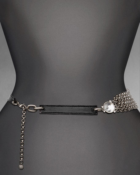 Chain and Leather Belt