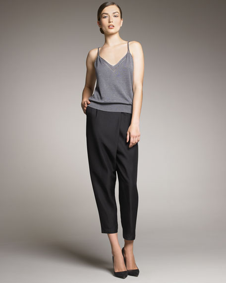 Rina Harem Trousers, Black