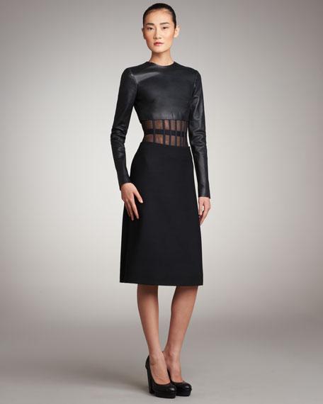 Corset-Waist Skirt