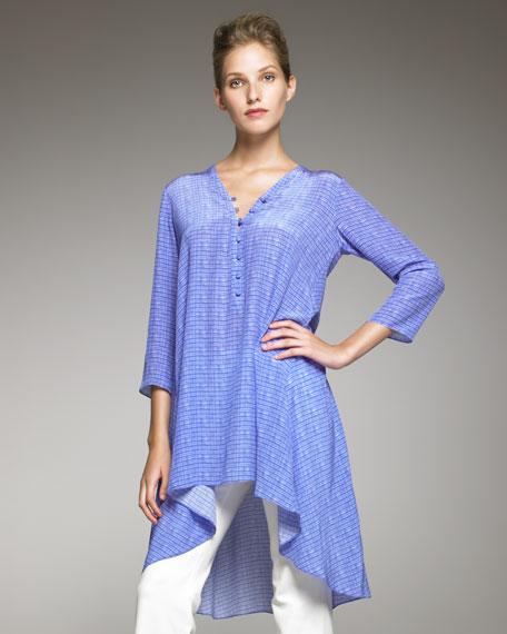 Silk Caftan Tunic