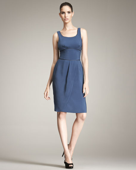 Giorgio Armani Cotton-Silk Dress