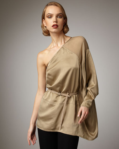 Asymmetric Caped Top