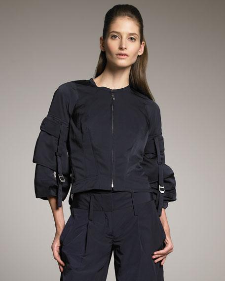 Tech Sheer-Back Jacket