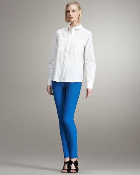 Skinny Pants, Blue