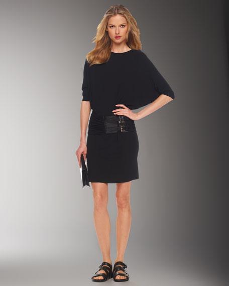 Drop-Waist Jersey Dress