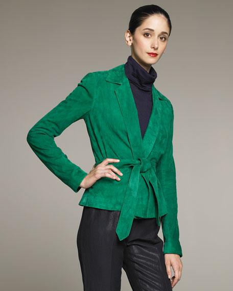 Melinda Suede Jacket