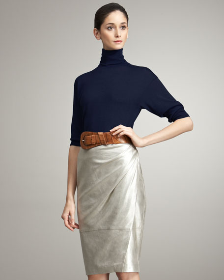 Abigail Suede Skirt