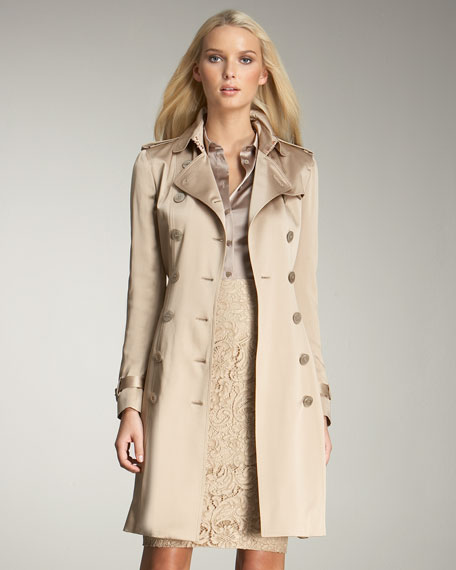 burberry trench coat sale outlet k3cj  burberry satin trench coat