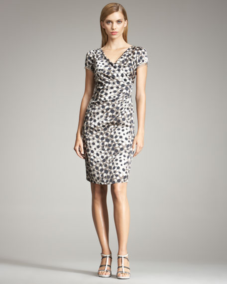 Graphic Dot Dress