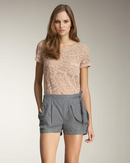 Wrap-Waist Shorts